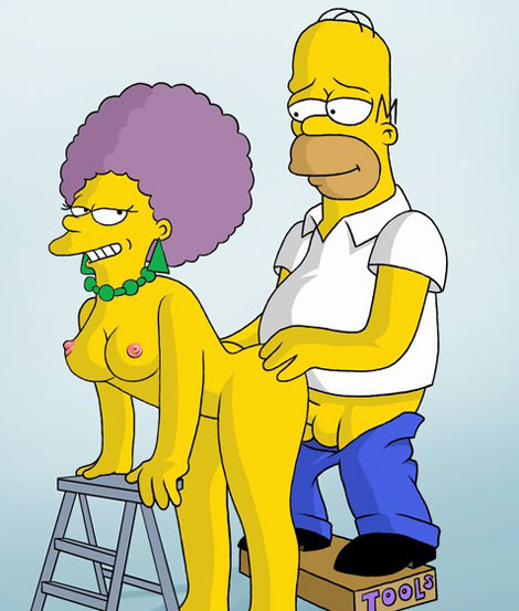 Simpsons catch the sex