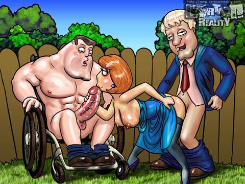 Family Guy toon porn